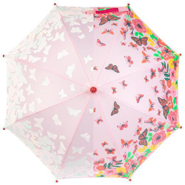 Stephen Joseph Color Changing Umbrella - Butterfly