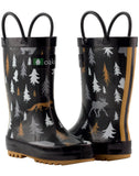 Size 5: Oaki Wildlife Tracker NEW Rain Boots