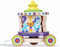 Melissa & Doug First Play Carousel Pull Toy NEW in box