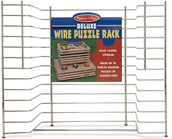 Wooden Puzzle Wire Rack