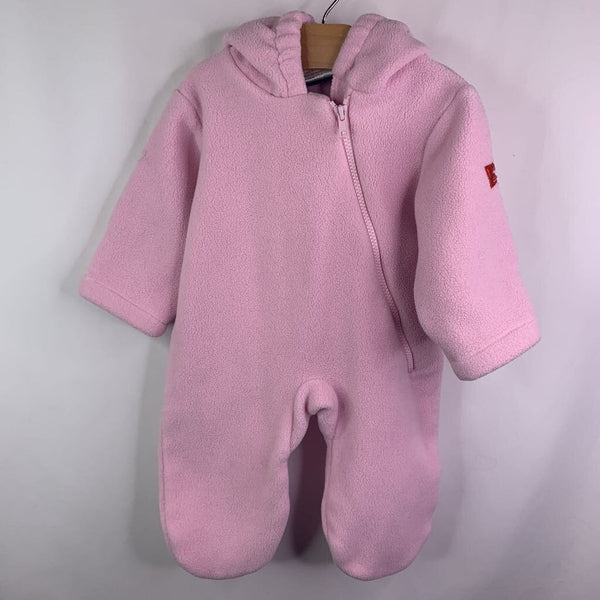 Widgeon Pink Fleece Polartec Hooded Bunting 6m