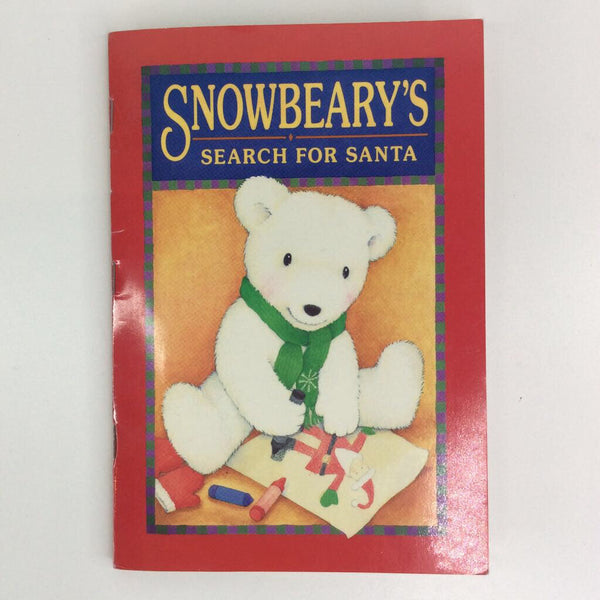 Snow Beary's Search For Santa (paperback)