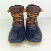 Size 3Y: Sperry Navy Duck Waterproof Rain Boot