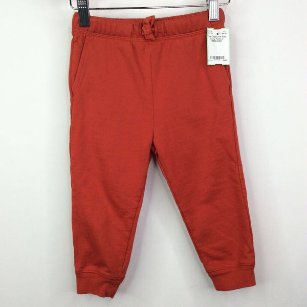 Tea Collection Red Cozy Pants 2 REDUCED