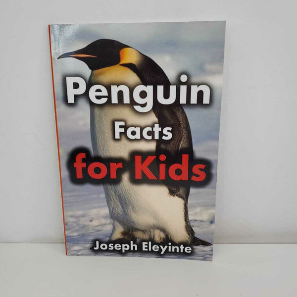 Penguin Facts for Kids (Paperback)