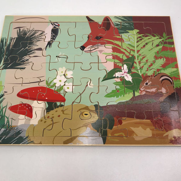 Kid O Wooden Forest Animal 35pc Puzzle