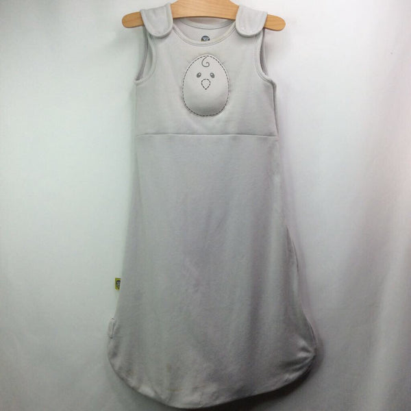 Size 6-12m: Nested Bean Grey Sleepsack REDUCED