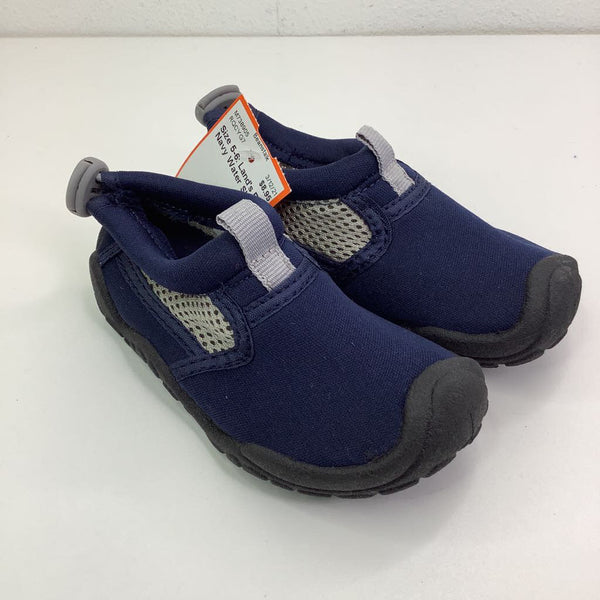 Size 5-6: Land's End Navy Water Shoes