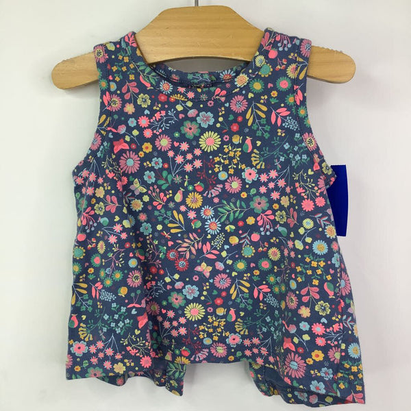 Size 12-18m: Gap Blue with Flowers Tank Top