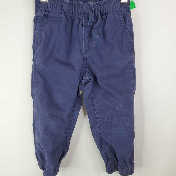 Size 2: Baby Gap Navy Drawstring Jogger Pants
