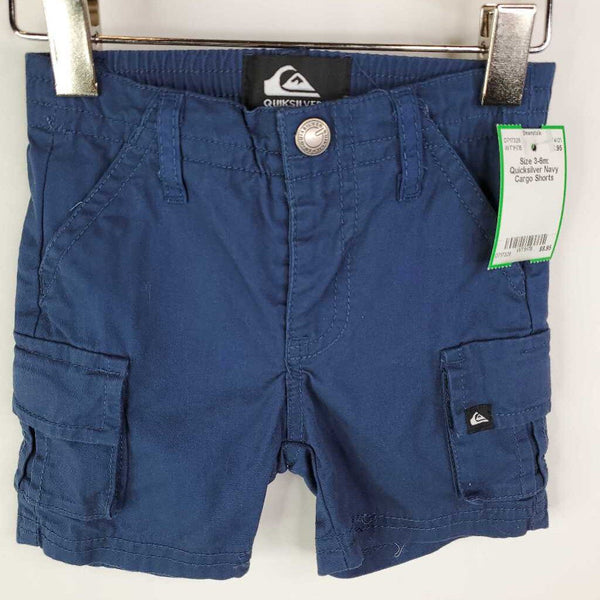 Size 3-6m: Quicksilver Navy Cargo Shorts