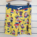 yellow w/elephants Hanna swim shorts 7(120)