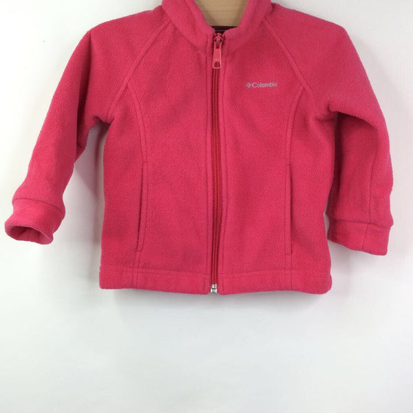 Columbia Pink Fleece Jacket 2