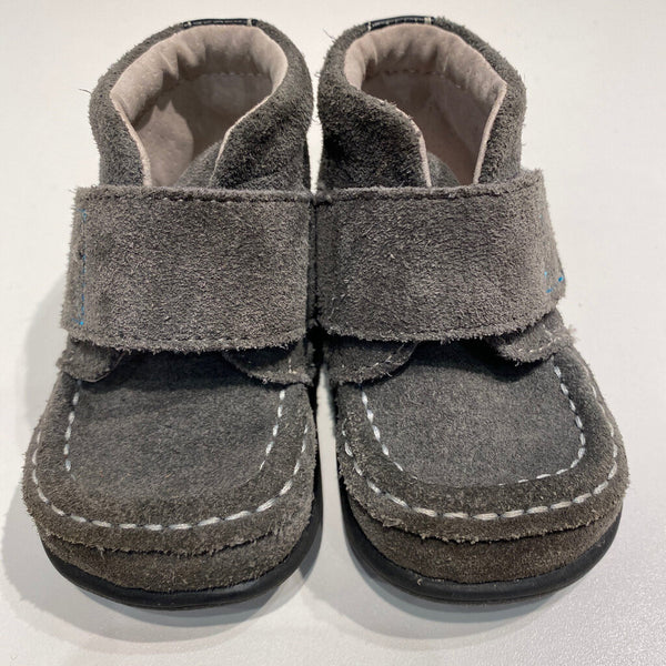 grey velcro see kai run boots 4T
