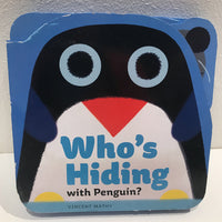 Who's Hiding With Penguin? (board book)