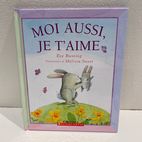 Moi Aussi, Je T'Aime Easter book