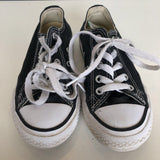Converse All Starts Black/White Classic Skater Shoes 11T