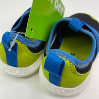 Crocs Blue/Green Mesh Slip-on Water Shoes NEW 7T