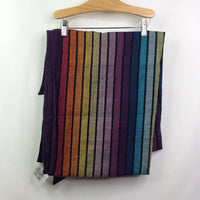 Girasol Black W/Rainbow Stripes Wrap - SALE