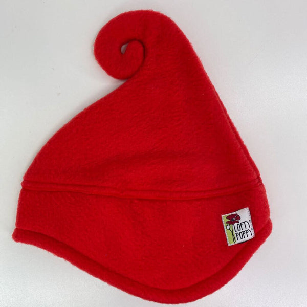 Lofty Poppy Fleece Hat - 6-18m (Small) Red