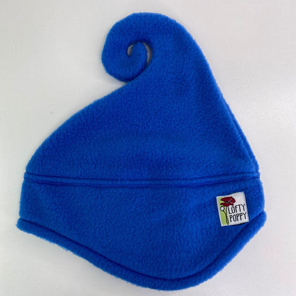 Lofty Poppy Fleece Hat - 6-18m (Small) Blue