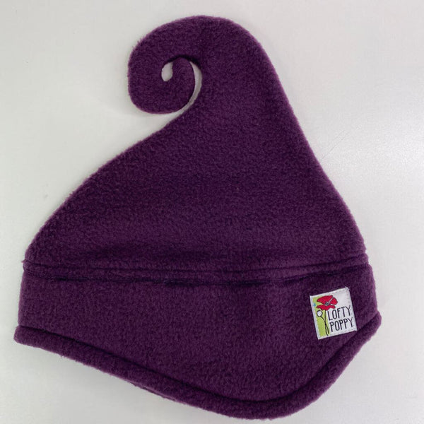 Lofty Poppy Fleece Hat - 6-18m (Small) Eggplant