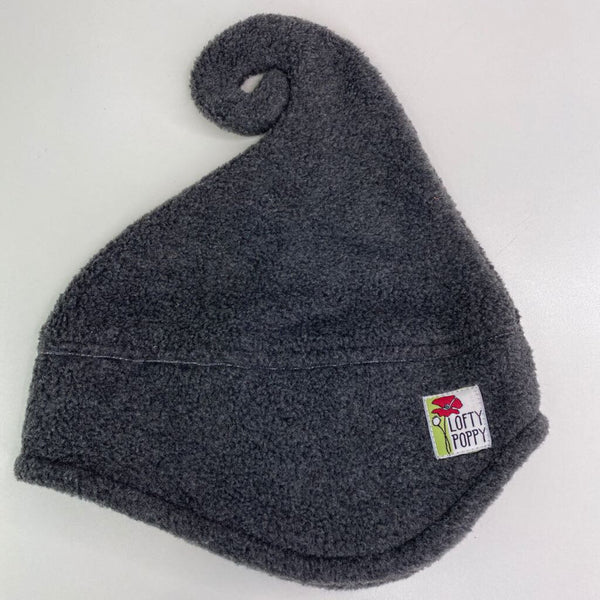 Lofty Poppy Fleece Hat - 6-18m (Small) Grey
