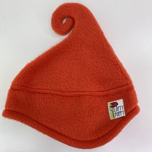 Lofty Poppy Fleece Hat - 0-6m (XSmall) Persimmon Orange