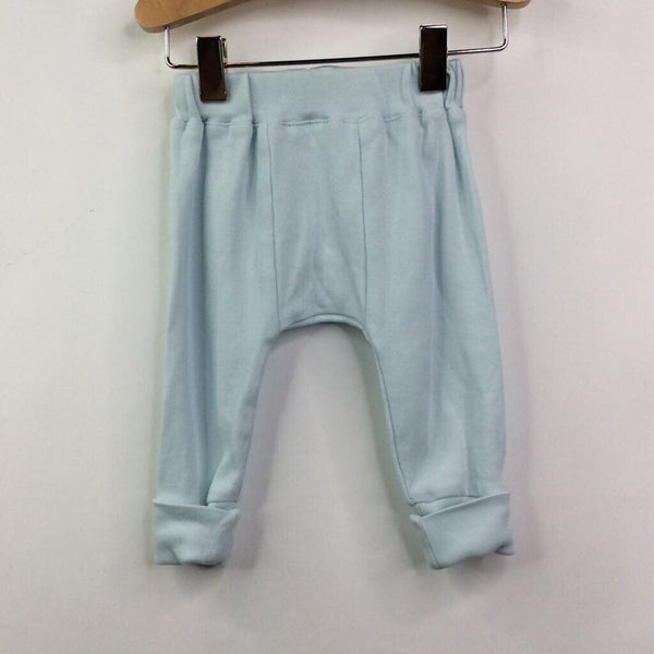 Finn + Emma Light Blue Cozy Pants NB