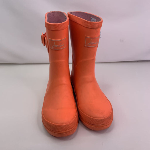 Joules Orange Rainboots 12T