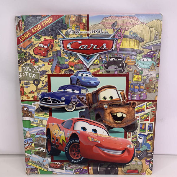 Cars Look and Find (hardback)