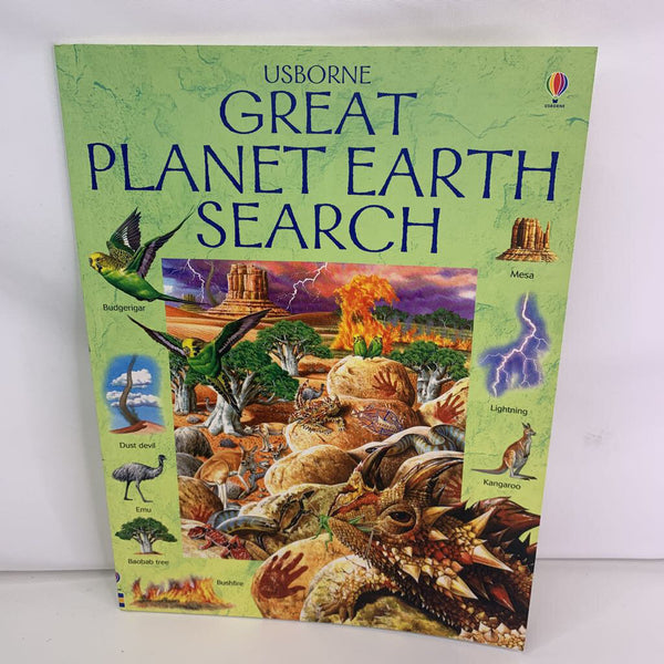 Great Planet Earth Search (paperback)
