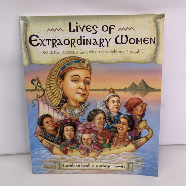 Lives of Extraordinary Women (paperback)