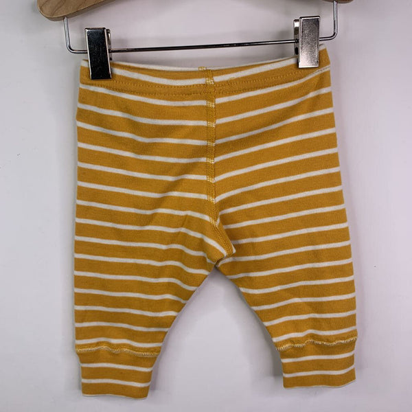 Hanna Andersson Yellow Stripe Pants 3-6m (60)