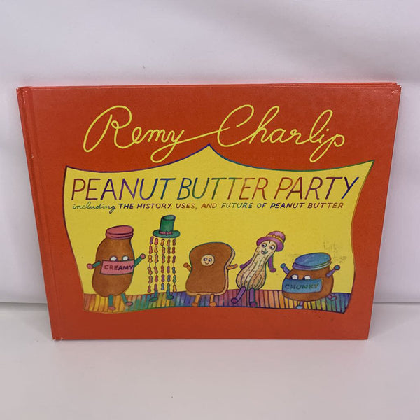 Peanut Butter Party (hardcover)