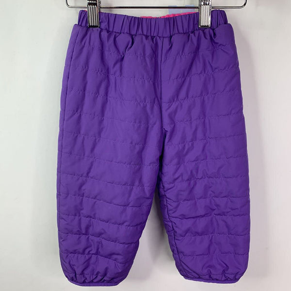 Columbia Lavender Fleece Lined Quilted Snow Pants 2