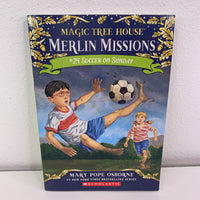 Magic Tree House #24 Soccer on Sunday (paperback)