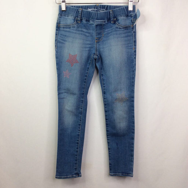 Gap Star Denim Elastic Waist Jeans 7