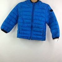Gap Blue Poly-fil Hooded Puffer Jacket 3