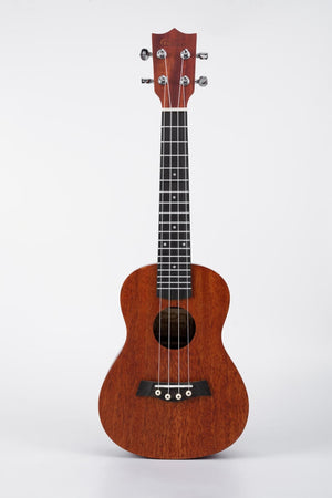 "23"" Concert Ukulele Mahogany Wood Burnished Brown"