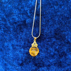 Citrine Pendant/ Queen of Citrine