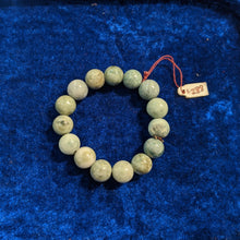 Load image into Gallery viewer, Jade Bracelet, Green to white Jade, natural Color Jade