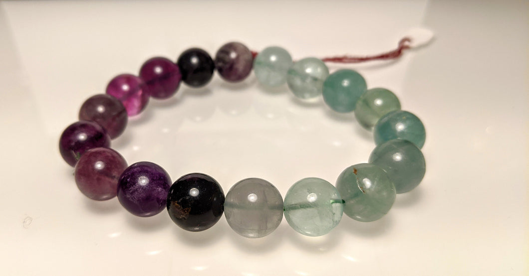 Multi color Fluorite bracelet - Large