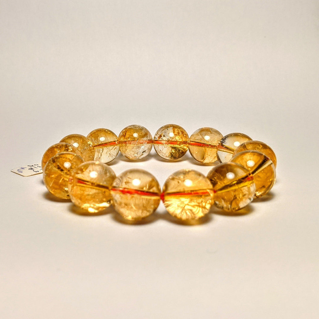 PREMIUM COLLECTION - High frequency Citrine Bracelet