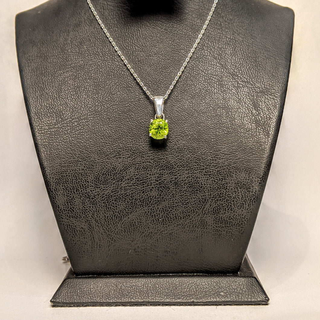 PREMIUM COLLECTION - Natural Peridot Pendant