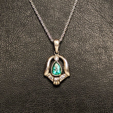 Load image into Gallery viewer, PREMIUM COLLECTION - Natural untreated Emerald Pendant