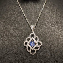 Load image into Gallery viewer, PREMIUM COLLECTION - Natural untreated Blue Sapphire Pendant
