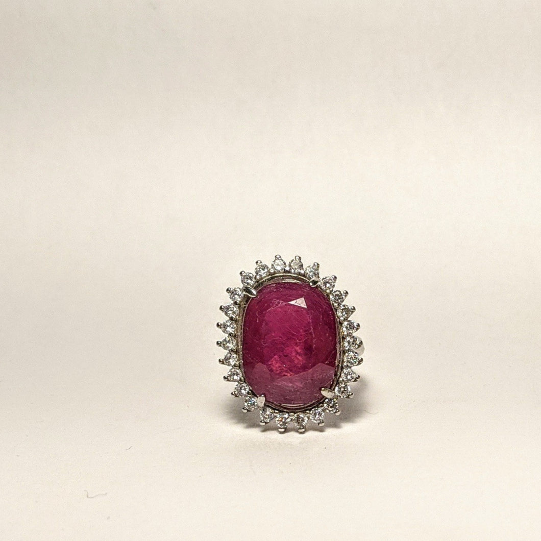 PREMIUM COLLECTION - Natural Ruby ring