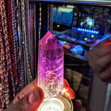 Load image into Gallery viewer, High frequency Ametrine points -  Crystal collection
