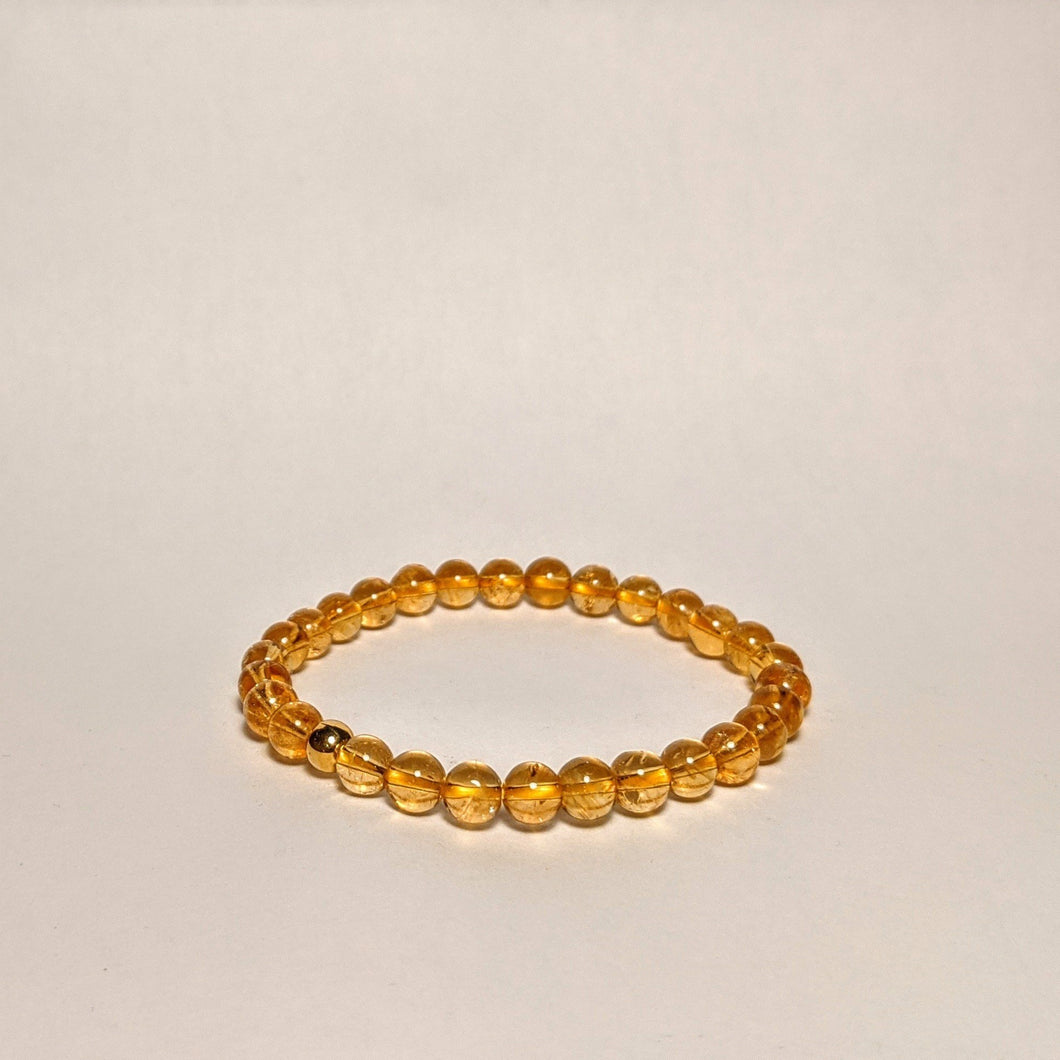 PREMIUM COLLECTION - High frequency Citrine Bracelet - small